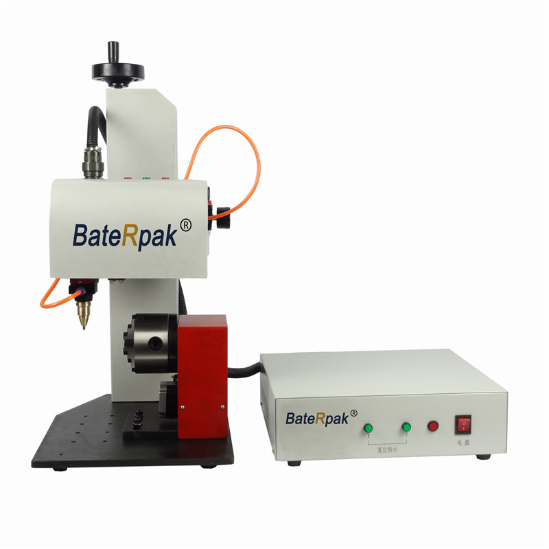 QD02 BateRpak pneumatic marking machine,aluminum coding machine,label printer,flat & ARC/round/circle surface marking machine yl 360 semi automatic manual marking machine aluminum labeling coding machine equipment parameter label printer