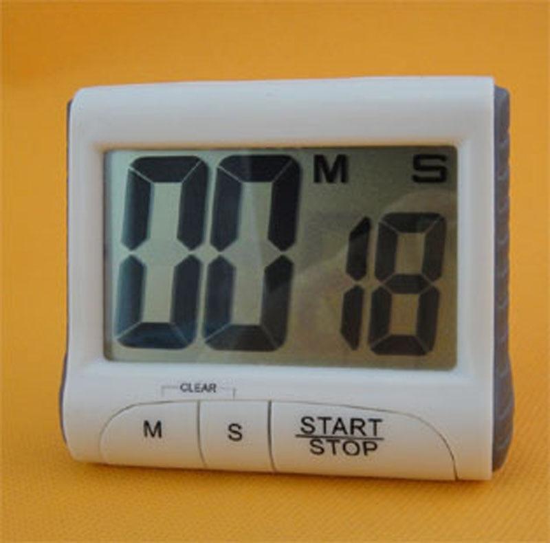 magnet digital kitchen count down counter timer beeping alarm clock us72. Black Bedroom Furniture Sets. Home Design Ideas