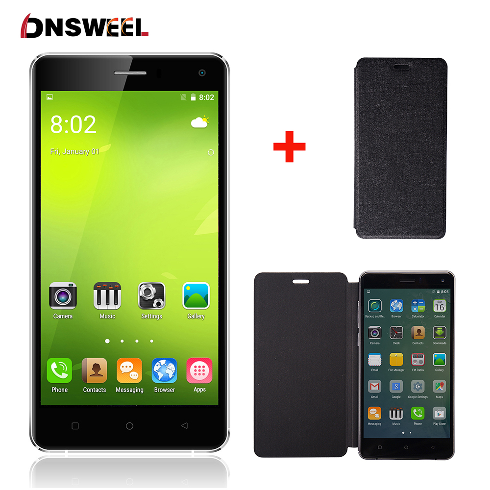 2016 New Gooweel M13 Plus 4G smartphone 5 0 HD Quad core android 5 1 mobile
