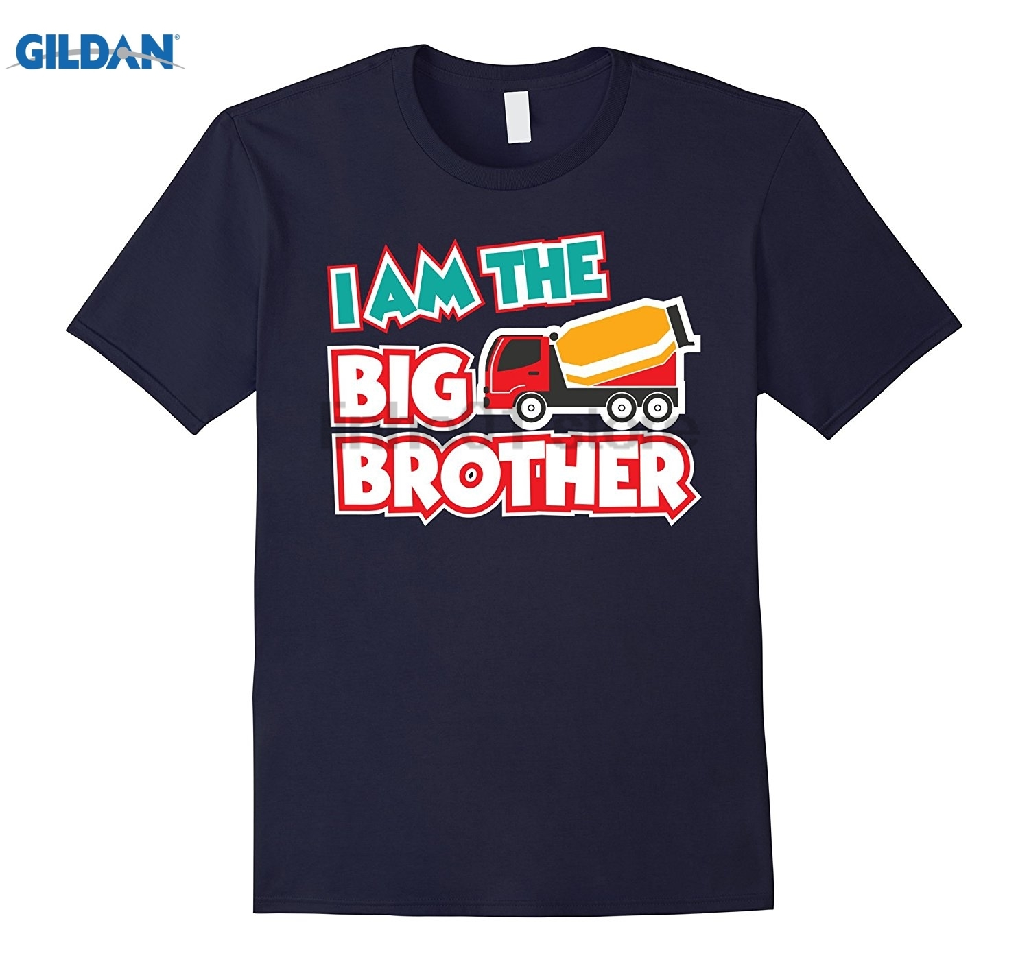 GILDAN Im The Big Brother Shirt - Truck Shirts for Kids Dress female T-shirt dress T-shirt