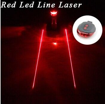 Պոչ լույս (5LED + 2Laser) անվճար - Հեծանվավազք - Լուսանկար 3