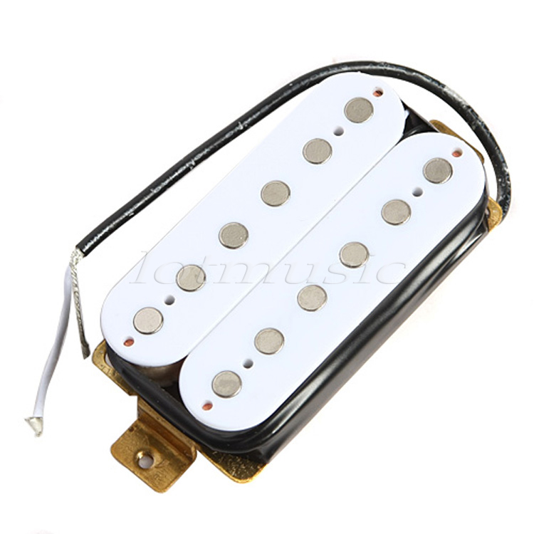 Guitar Pickup Humbucker Double Coil Pickups Electric Guitar Parts Accessories White