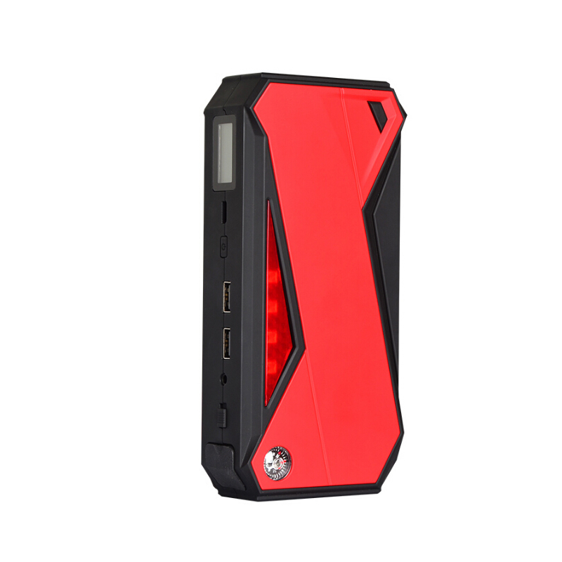 800A Pic 16800 mah Multifonction Démarreur Voiture De Saut Puissance Portable Booster Puissance Banque Smart Port De Charge LCD Écran LED lumière