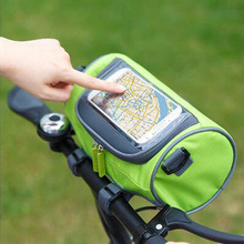 Bicycle Front Touch Screen Phone Bag MTB Road Bike Cycling Mobile Bag Cycle Front Bag 5