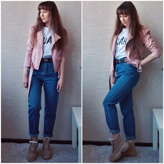 Dunayskiy Autumn jeans women Fashionable Blue High Waist Loose Denim Jeans Female Harem Pants Trousers boyfriend jeans for women 10