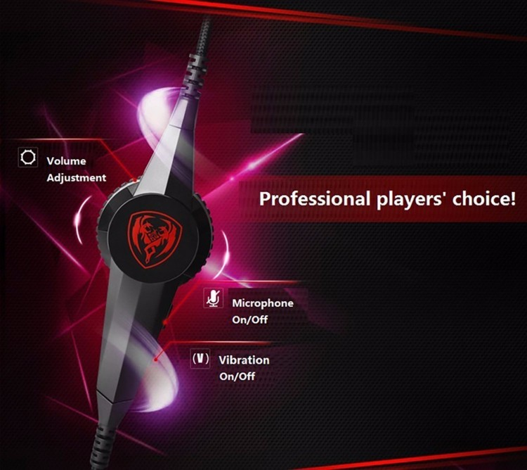 Gaming Headphones Somic G941 USB Game Headset  With Microphone 7.1 Surround Sound Effect Vibrating Function For PC Gamer (3)