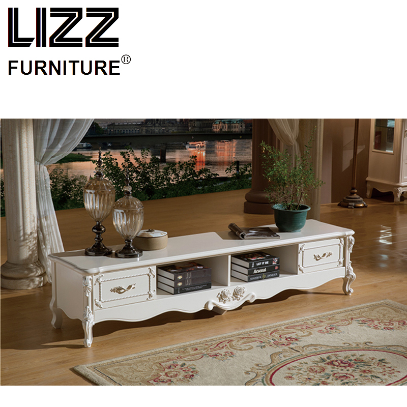 Marble TV Stand Living Room Furniture Set Royal Furniture Antique Style TV Cabinet Stand Muebels Meuble TV