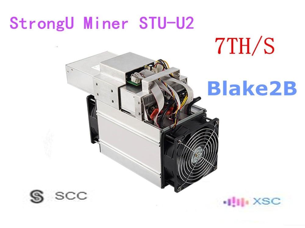 STU-U2 Blake2b 6TH/S de mineur de StrongU de mineur de SCC XSC utilisé avec le PSU mieux que l'antminer A3 Innosilicon S11 FFMiner DS19