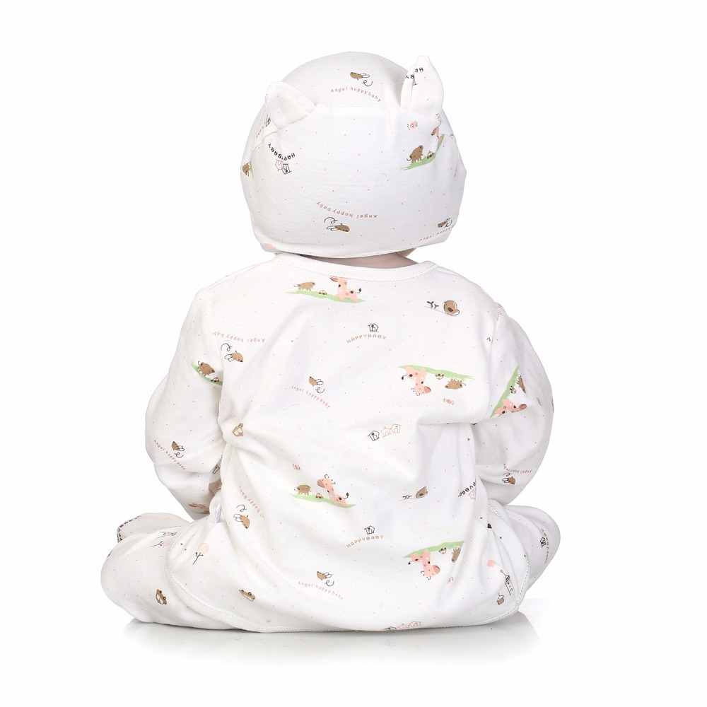 Image 5 - NPK 56cm full body Silicone reborn Baby Doll Girl Newbron Lifelike Bebes Reborn toys playmates for kids with sleeping bag-in Dolls from Toys & Hobbies