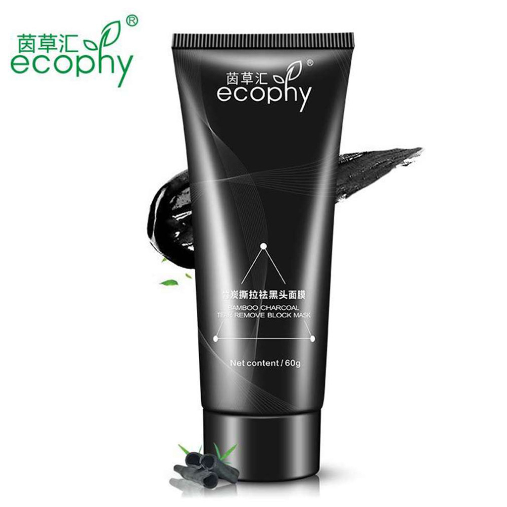 Ecophy Tearing Type Masks Nose Black Mask Nasal T Zone Paste Shrink Pores To Remove Blackheads Unisex top quality