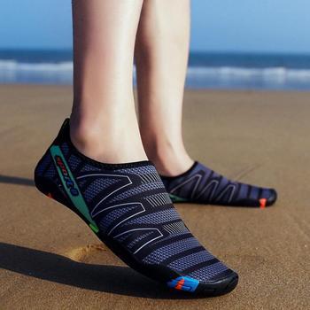 Unisex Sneakers Swimming Shoes Water Sports Aqua Seaside Beach Surfing Slippers Upstream Light Athletic Footwear For Men Women 1
