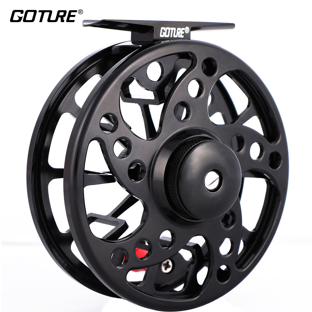 Goture SPARK Large Arbor Fly Fishing Reel 5/6 7/8 2+1BB Max Drag 8kg Waterprrof CNC-machined Aluminum Fishing Fly Reel аккумулятор patriot 12v 1 5 ah bb gsr ni