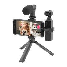 for DJI OSMO Pocket Gimbal Handheld Holder Aluminium Extened Bracket Phone Clip phone Mount