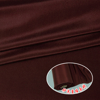 New heavy solid color crepe de chine silk fabric 30mm printing and dyeing clothing cheongsam silk fabric wholesale silk cloth