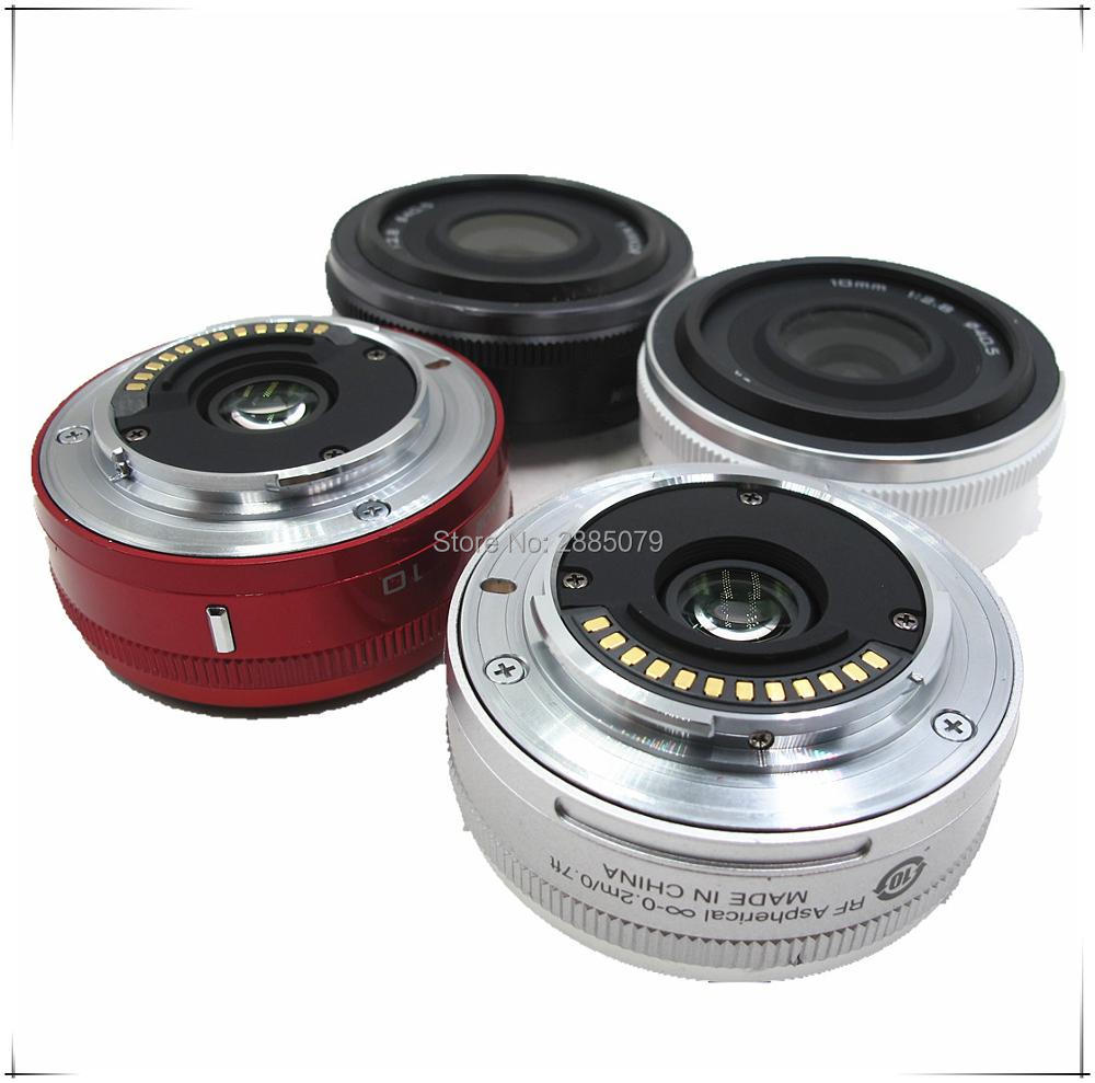 100% D'origine objectif Pour Nikon 1 NIKKOR 10mm F/2.8 Lentille Unité Blanc Appliquer à J1 J2 J3 j4 J5 V1 V2 V3
