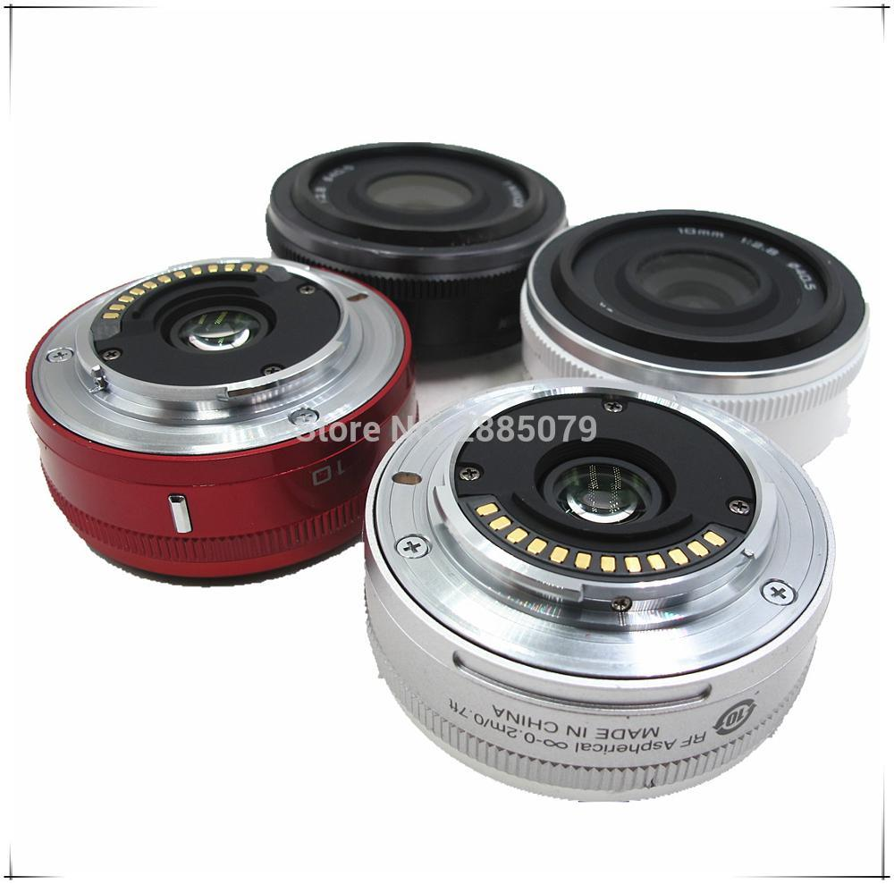 100% Original  Lens For Nikon 1 NIKKOR 10mm F/2.8 Lens Unit White Apply To J1 J2 J3 J4 J5 V1 V2 V3