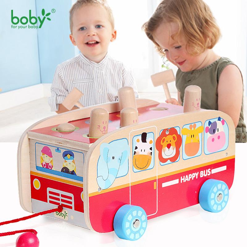 beb juguetes para nios de coches hot wheels nios tiran de autobs con martillo juego de