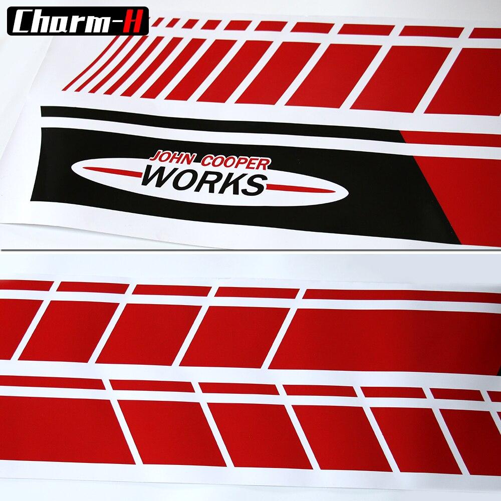 Մի զույգ սև / կարմիր կողմի փեշ Racing - Ավտոմեքենայի արտաքին պարագաներ - Լուսանկար 5