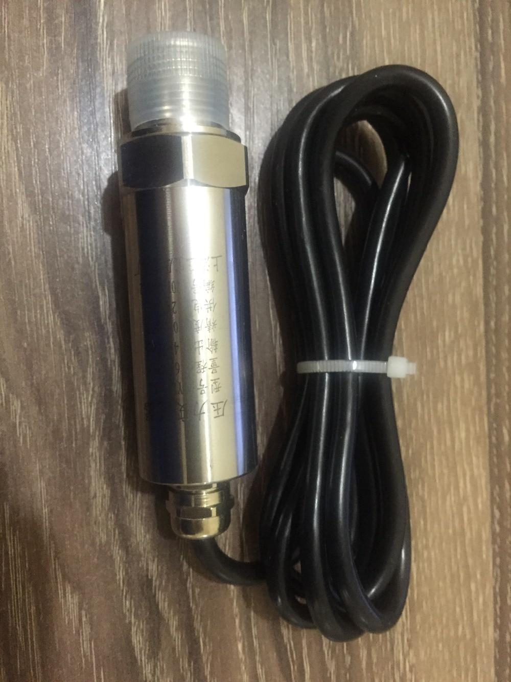 Waterproof Lead Wire Straight Line Pressure Sensor Transmitter 4 20 mA M20 1 5 0 5