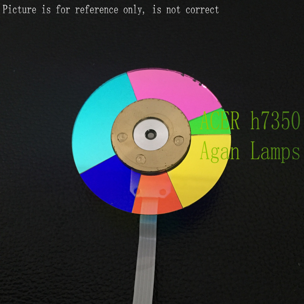 Brand new Original Projector Color Wheel for Optoma PH730 wheel color original projector color wheel for optoma ex540i