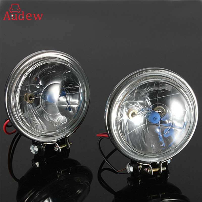 "2x 12V 3.5/"" 100W Car Motorcycle Headlight Fog Light Reverse Lamp Driving Lights"