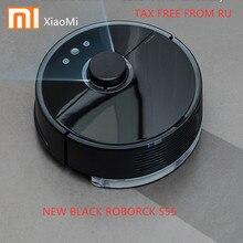 Новый Roborock S55 S51 Xiaomi робот пылесос 2 планируется пылесос для уборки для дома развертки влажной уборки приложение Управление