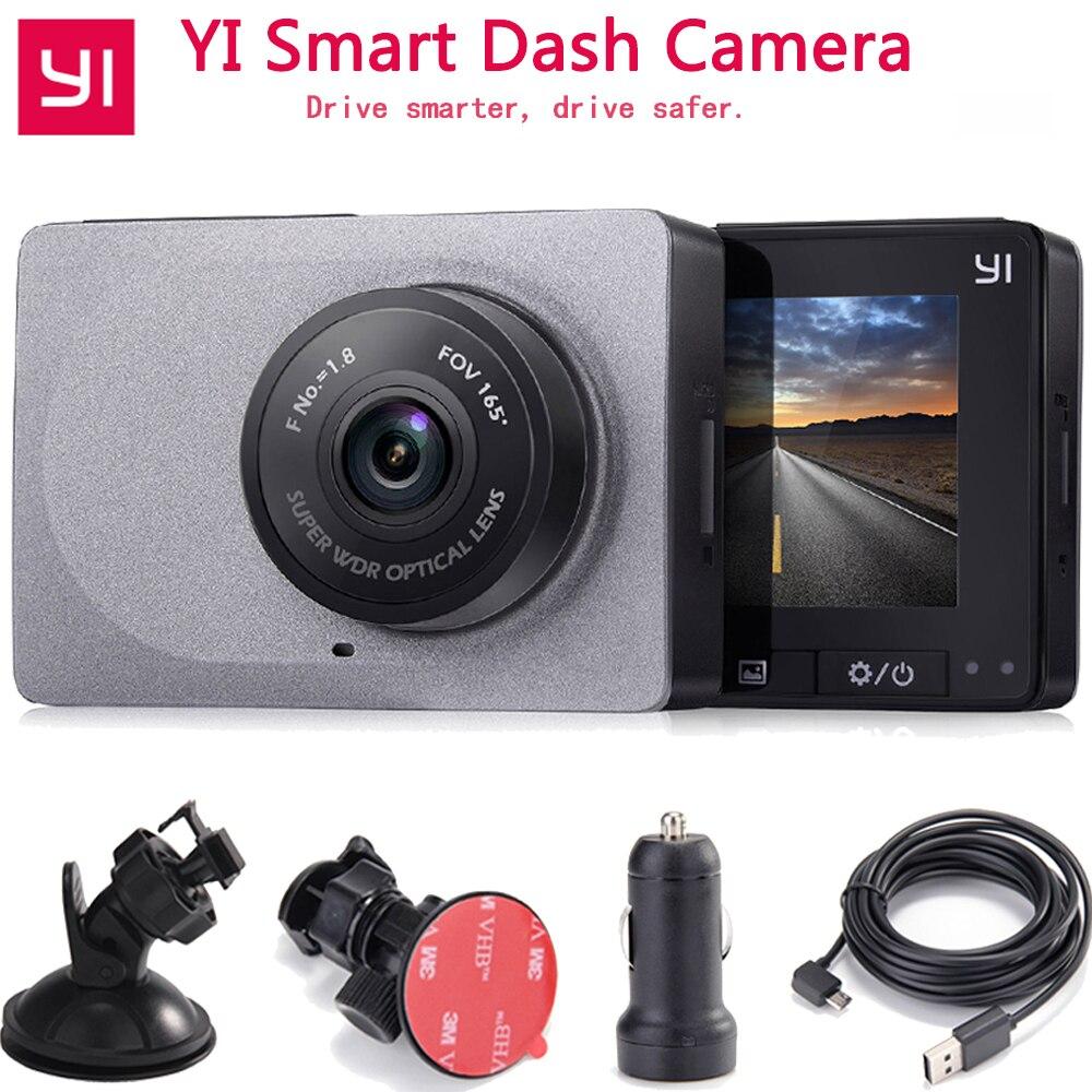 [Международное издание] Xiaoyi YI салона автомобиля Камера 1080 P 60fps 165 градусов детектор 2,7 тире Камера ADAS безопасный напоминание YI Видеорегистра...
