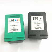 Vilaxh 129 135 compatible Ink Cartridge Replacement For HP for hp129 photosmart C4140 C4173 C4175 C4180 C4183