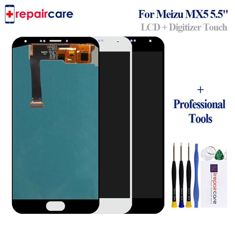 Affichage pour meizu mx5 écran tactile numériseur assemblée pour meizu mx 5 pour Meilan MX5 lcd pour meizu mx5 lcd