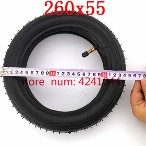 Image 3 - Tires 260x55 tyre&inner tube fits Children tricycle, baby trolley, folding baby cart, electric scooter, childrens bicycle