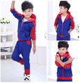 New 2016 Spider Man baby Clothing Sets cotton Long Sleeve Fashion Spiderman Zipper Cosplay Costume baby cartoon clothing set