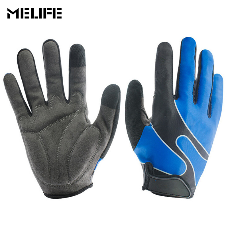 MELIFE Skiing Gloves Bicycle Outdoor Sport Training Glove Women men Full Finger Shockproof Touch Screen Motocross Winter gloves