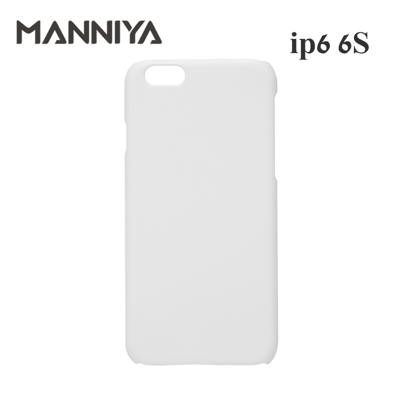 MANNIYA 3D Sublimation Blank White Phone Cases for iphone 6 6s Free Shipping 100pcs lot