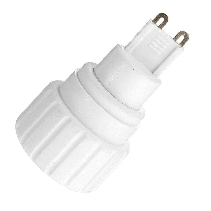 Lamp Base G9 To GU10 Socket Lamp Base Holder Bulb Light LED Lamp Adapter Holder Converter 220V 5A PBT Material