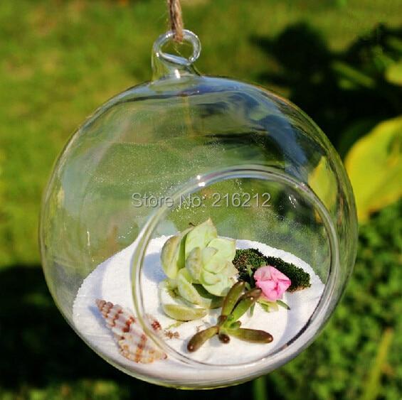 Vazo me vazo të varur nga qelqi Borosilikat dhe Vazat e Tabelës - Dekor në shtëpi - Foto 1
