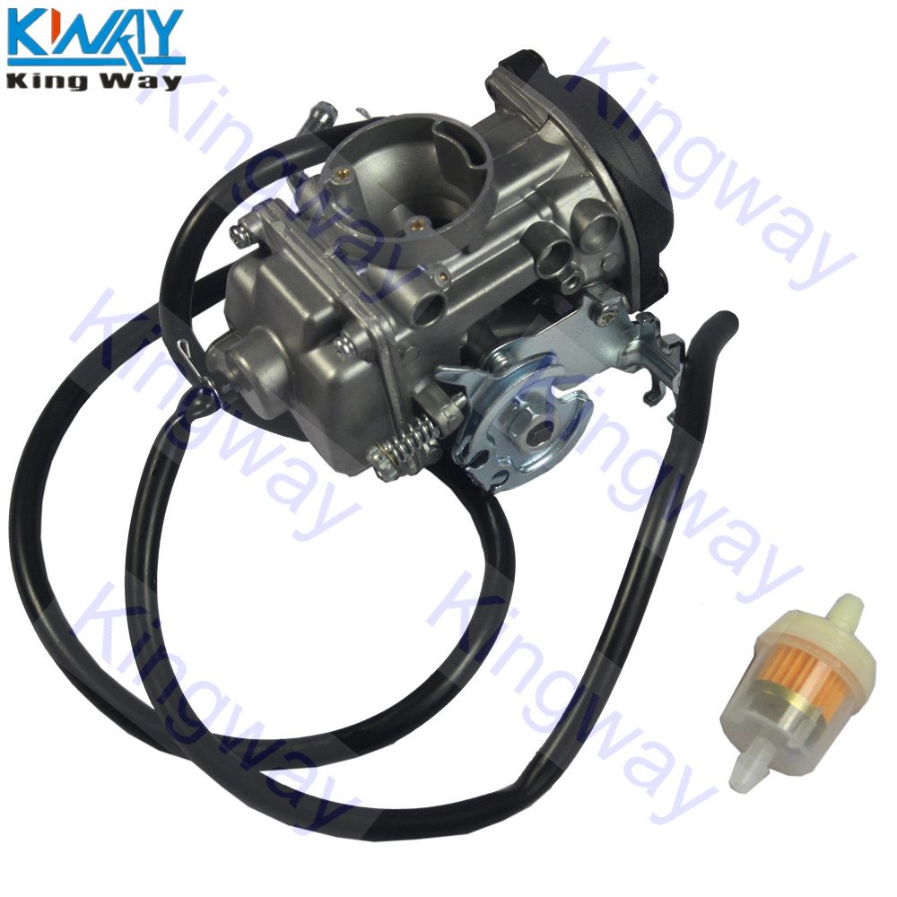 FREE SHIPPING - King Way - Carburetor With Fuel Filter For YAMAHA TW200 TW 200 2001-2017 200 Trailway Carb