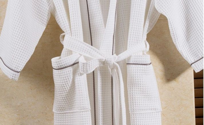 Women\'s Mid-Calf Cotton Sleep Lounge Robes RBS-D RB26 16