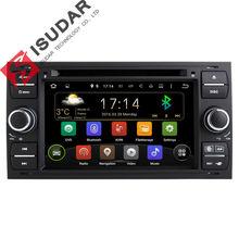 2 Din 7 Pulgadas En El Tablero de Android Coches Reproductor de DVD Para Ford Mondeo/Focus/Tránsito/C-MAX con Quad Core Wifi GPS de Navegación de Radio FM
