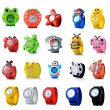 Lovely Kids Watch 3D Cartoon Animal Quartz Wristwatches Spor