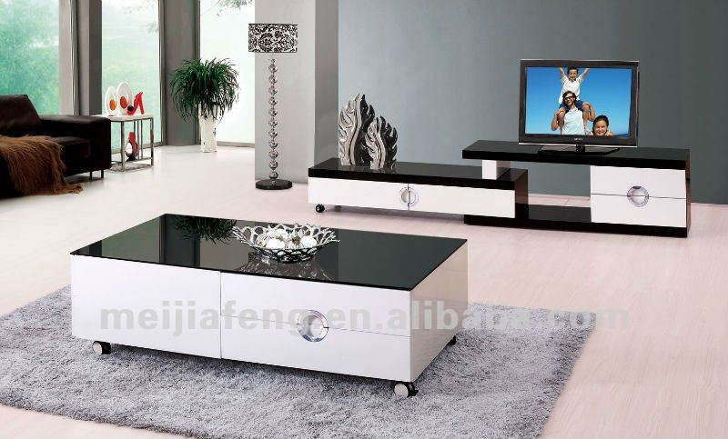 2012 modern center table design galss coffee table in - Glass centre table for living room ...