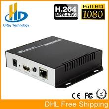 URay MPEG4 HDMI A IP H.264 Codificador de Video En Vivo Codificador RTMP HDMI IPTV Codificador H264 Con HLS RTSP HTTP UDP
