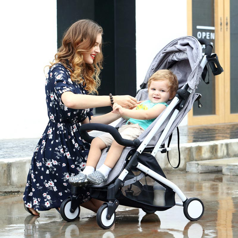100% Original Cheap Baby Strollers Brands Upgrade 3 in 1 Ultra Travel Portable Folding Suspension Travel Stroller Buggy Car kids original hot mum baby strollers 2 in 1 bb car folding light baby carriage six free gifts send rain cover
