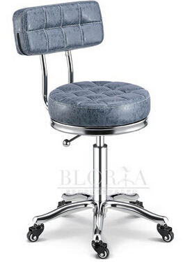 The New Hair Salon Hair Master Chair. Master Stool. Bring Back. Small Office Chair Fashion