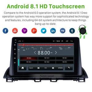 Image 3 - 2GB RAM 32GB ROM أندرويد 8.1 2Din سيارة مشغل وسائط متعددة لتحديد المواقع لمازدا 3 Axela 2013 2014 2018 دعم SWC OBD واي فاي مرآة لينك