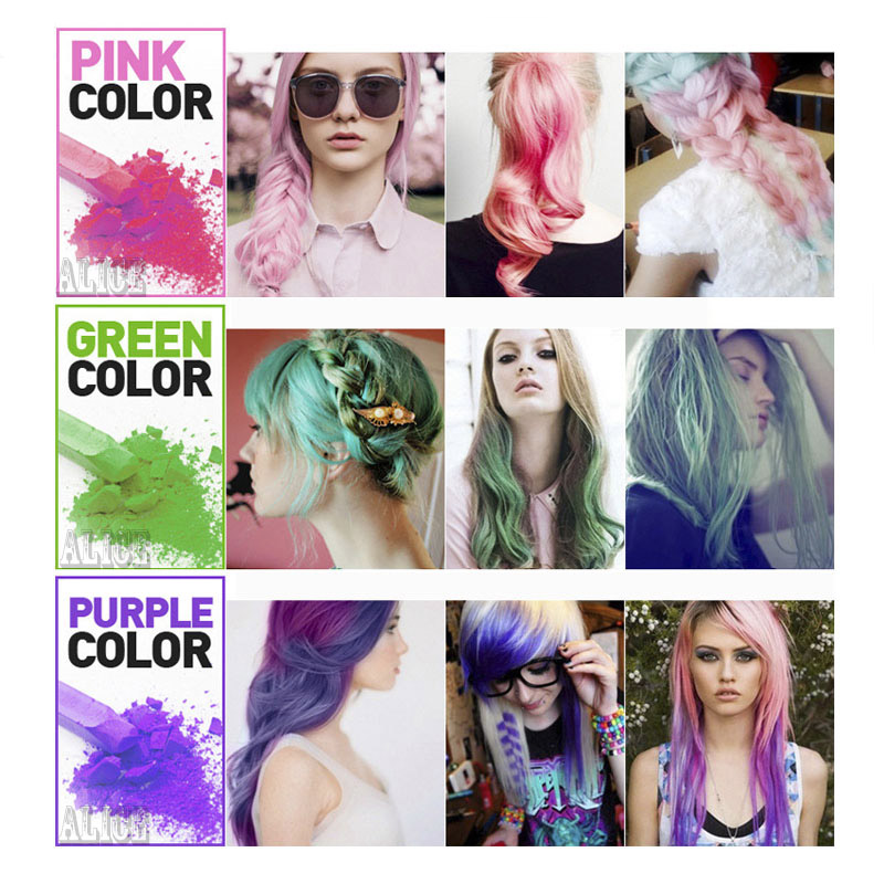 Aliexpress Buy Temporary Hair Chalk Color Chalk 6 Colors