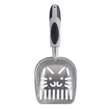 Useful Cat Litter Shovel Pet Cleaning Tool Aluminum Alloy Sifter Scoop Cat Sand Cleaning Products Toilet For Dog Food Spoons