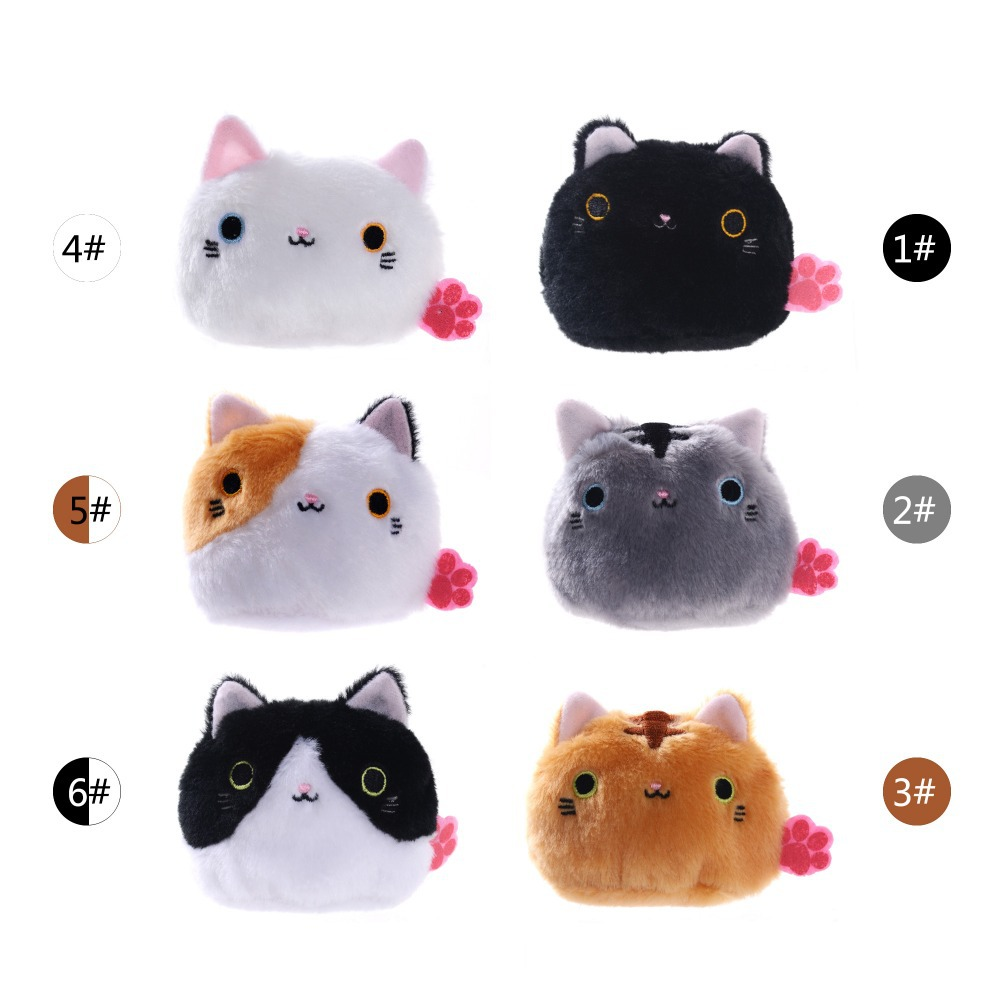 Free Shipping 3Collection MAGIC Cat Plush Toys Kids Mini Cute Cartoon Cat Stuffed Animal Doll Toys for Kids