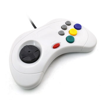 100pcs USB Wired game Controller Gamepad JoyPad Joystick   ( For Sega for Saturn Style) For PC ONLY