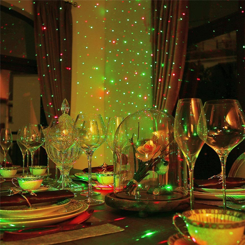 ZINUO In Movimento All'aperto Pieno Cielo Star Laser Proiettore Paesaggio Lampada Doccia rosso e Verde Della Fase del LED Luce Esterna Di Natale Laser lampada