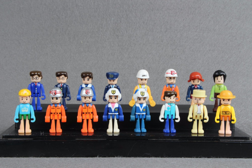 10pcs Random TOMY TOMICA HYPER SERIES Hyper Rescue Police mini figures tomica тротуар для трассы